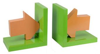 Boekensteun-Groen-Oranje-(2-stuks)