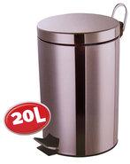 Roestvrijstalen-pedaalemmer-(20-liter)