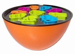 Beslagkom-met-Bakvormen-Oranje-(12-delig)