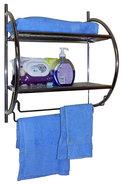 Handdoekenrek-(zwart)