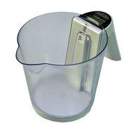 Keukenweegschaal-met-afneembare-Maatbeker-Wit
