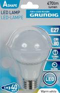Led-lamp-Warmwit-5-Watt-(vergelijkbaar-met-40-Watt-gloeilamp)