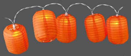 Feestverlichting-Lampionnen-(cilinder-oranje)