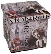 Poef-Opbergbox-Monroe-Opvouwbaar-(38-x-38-x-38-cm)
