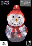 Sneeuwpop-24-cm-20-led-lampjes-met-timer-(rood)