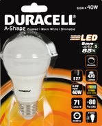 Duracell-Led-lamp-Dimbaar-(66-Watt)