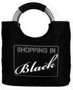 Boodschappentas-met-Tekst:-Shopping-In-Black