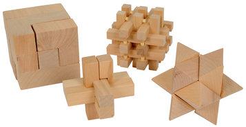 Denkpuzzels-(4-stuks)