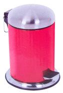 Pedaalemmer-Prullenbak-Afvalemmer-Rood-(3-liter)