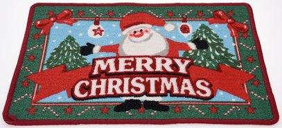Deurmat-Kerst-(kerstman)