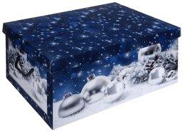 Opbergbox-Opbergdoos-Kerst-(blauw)