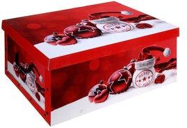 Opbergbox-Opbergdoos-Kerst-(rood)