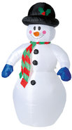 Sneeuwpop-180-cm-Opblaasbaar-met-Pomp