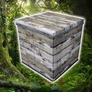 Opbergbox-Opbergdoos-Grijs-(31-x-31-x-31-cm)