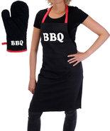 Barbecueschort-met-Handschoen