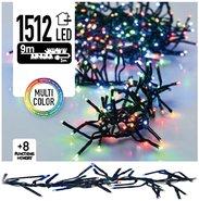 Clusterverlichting-Kerstverlichting-Kerstboomverlichting-Lichtsnoer-Meerkleurig-(11-meter)