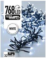 Clusterverlichting-Kerstverlichting-Kerstboomverlichting-Lichtsnoer-Knipperend-Wit-(45-meter)