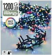 Clusterverlichting-Kerstverlichting-Kerstboomverlichting-Lichtsnoer-Meerkleurig-(24-meter)